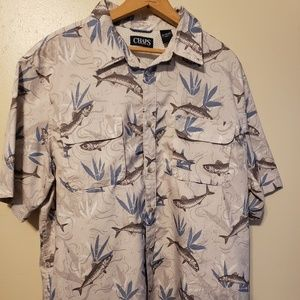 Chaps mens breathable cool shirt size XL